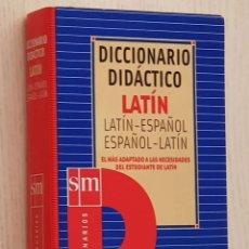 Diccionarios: DICCIONARIO DIDÁCTICO DE LATÍN. SM. 2002.. Lote 246012685