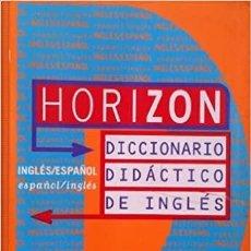Diccionarios: HORIZON. DICCIONARIO DIDÁCTICO DE INGLÉS. SM. 1997 SEGUNDA EDICIÓN.. Lote 246015615