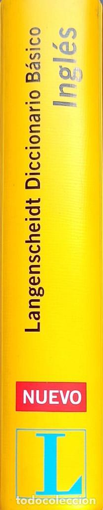 Diccionarios: Langenscheidt Diccionario Básico Inglés: Español-Inglés / Inglés-Español - Bueno - Foto 3 - 246943760