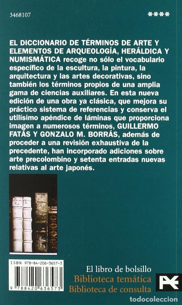Diccionarios: Diccionario de términos de arte..., Guillermo Fatás, Gonzalo M. Borrás - Alianza - Foto 2 - 246945965
