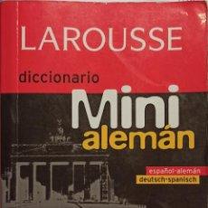 Diccionarios: DICCIONARIO LAROUSSE - MINI ESPAÑOL/ALEMÁN - TAPA BLANDA - FORMATO MINI LAROUSSE. Lote 247104545