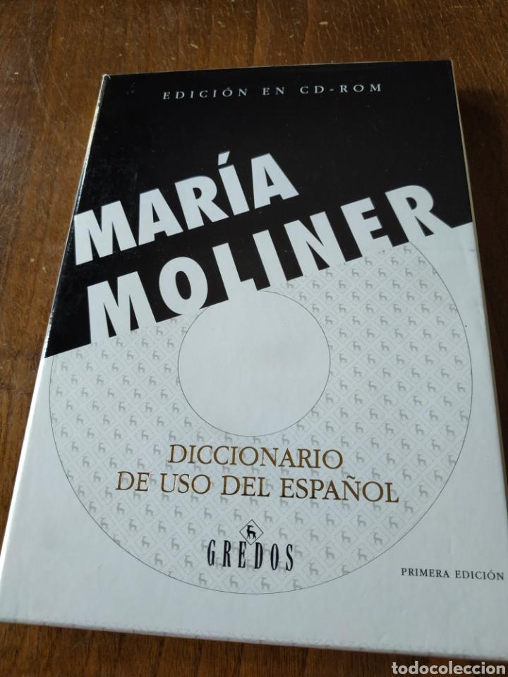 DICCIONARIO DE USO DEL ESPAÑOL. MARÍA MOLINER (Libros Nuevos - Diccionarios y Enciclopedias - Diccionarios)