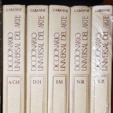 Diccionarios: DICCIONARIO UNIVERSAL DEL ARTE 5 TOMOS. ED. ARGOS VERGARA 1981. Lote 253179415
