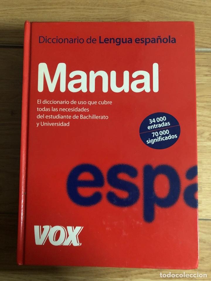 2007 DICCIONARIO DE LENGUA ESPAÑOLA VOX (Libros Nuevos - Diccionarios y Enciclopedias - Diccionarios)