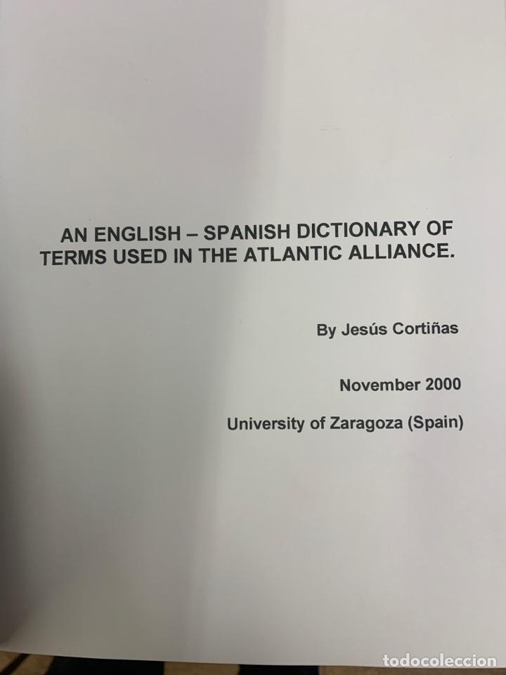 DICCIONARIO INGLÉS ESPAÑOL DE LOS TÉRMINOS DE LA ALIANZA ATLÁNTICA (Libros Nuevos - Diccionarios y Enciclopedias - Diccionarios)
