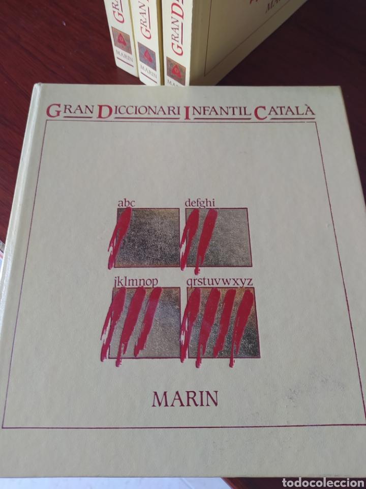Diccionarios: GRAN DICCIONARI INFANTIL CATALA MARIN - Foto 2 - 260544095
