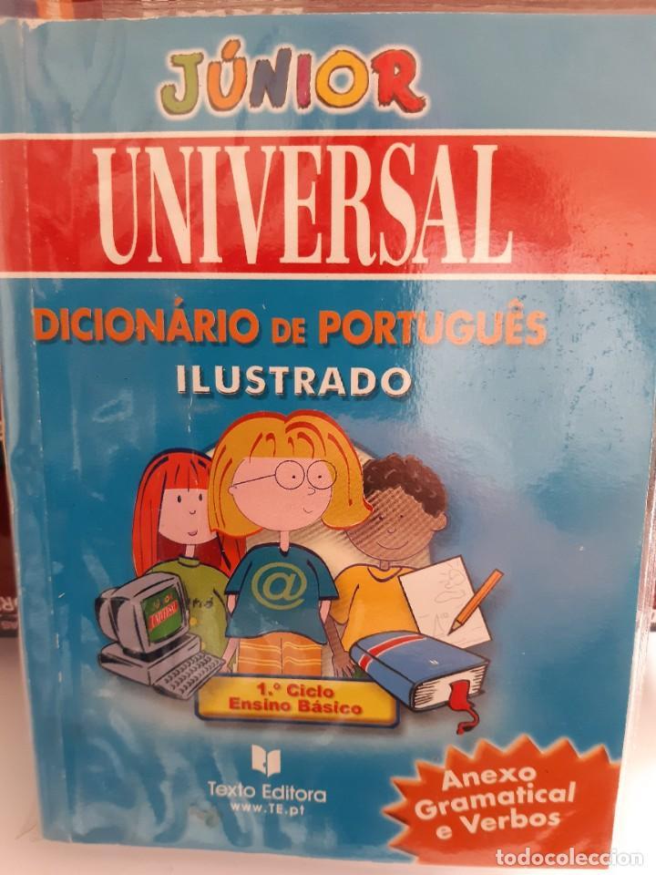 DICCIONARIO DE PORTUGUES ILUSTRADO JUNIOR (Libros Nuevos - Diccionarios y Enciclopedias - Diccionarios)