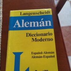 Diccionarios: DICCIONARIO ALEMÁN. Lote 261828865