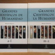 Diccionarios: DICCIONARIO GRANDES CIENTÍFICOS DE LA HUMANIDAD. Lote 262609850