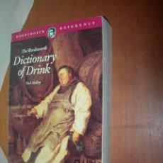 Diccionarios: DICTIONARY OF DRINK / NED HAÑÑEY / VVAA / INGLÉS. Lote 263029225