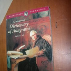 Diccionarios: DICTIONARY OF ANAGRAMMS / MICHAEL CURL / INGLÉS. Lote 263035025