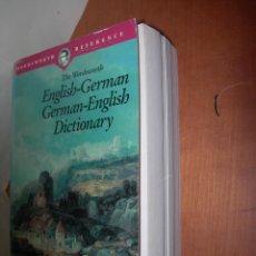 Diccionarios: THE WORDSWORTH ENGLISH-GERMAN---- GERMAN - ENGLISH DICTIONARY / ROBIN SAWYERS. Lote 263044565