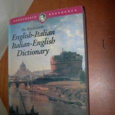 Diccionarios: THE WORDSWORTH ENGLISH - ITALIAN ----- ITALIAN ENGLISH DICTIONARY /. Lote 263045510