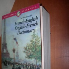 Diccionarios: THE WORDSWORTH FRENCH - ENGLISH ---- ENGLISH - FRENCH DICTIONARY / P. FORBES- H. SMITH. Lote 263046470