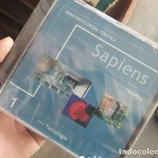 Diccionarios: GRAN ENCICLOPEDIA TEMATICA SAPIENS..13 CDS PRECINTADOS. Lote 263693725