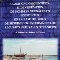 Diccionarios: CLASIFICACIÓN CIENTÍFICA E IDENTIFICACIÓN DE NOMBRES VERNÁCULOS.... Lote 264326308