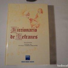 Diccionarios: DICCIONARIO DE REFRANES. AUTOR: LUIS JUNCEDA. AÑO 1995. NUEVO. ESPASA CALPE, EDICIÓN PARA EL BBV,. Lote 264505714