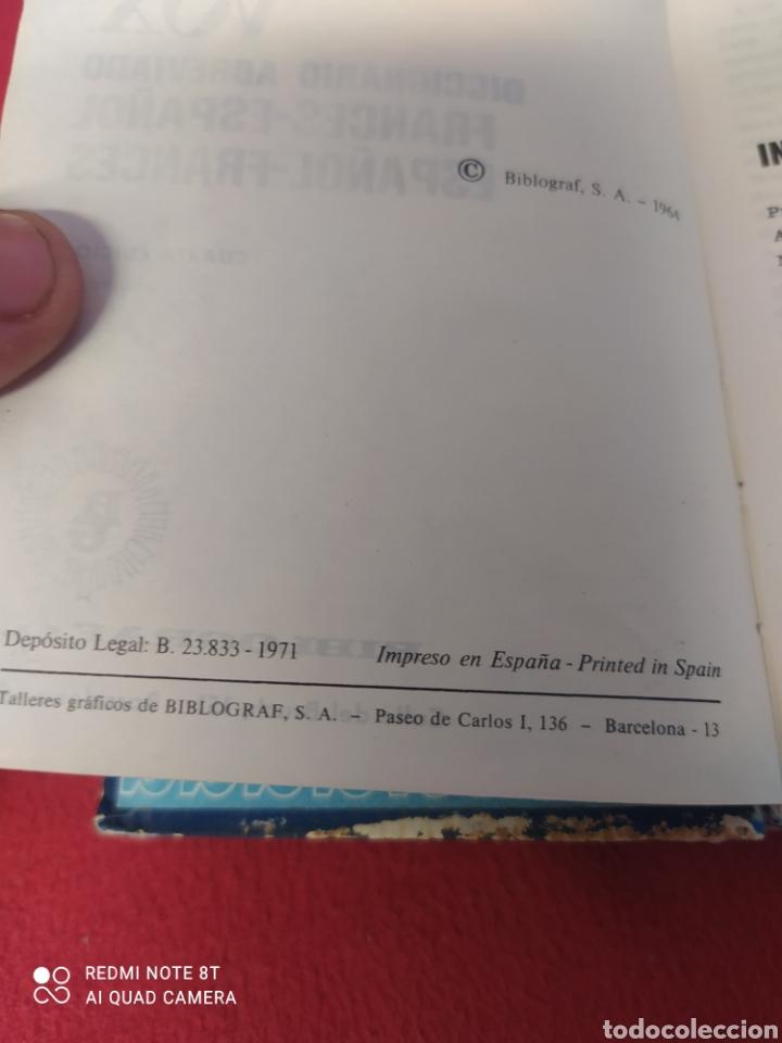 Diccionarios: DICCIONARIO FRANCÉS - ESPAÑOL VOX - Foto 5 - 265412454