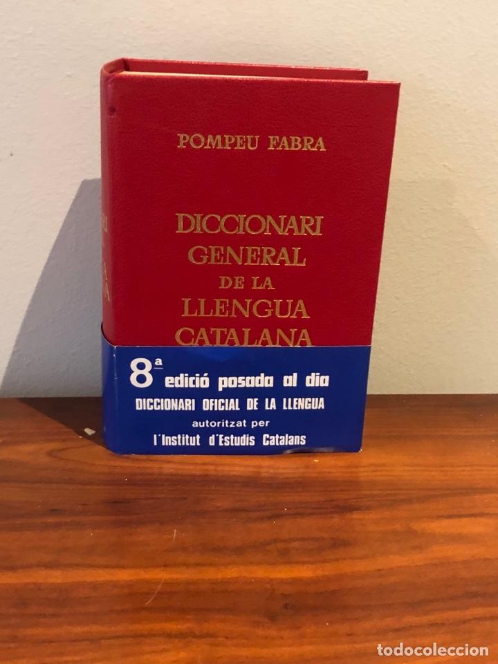 DICCIONARIO GENERAL DE LA LENGUA CATALANA. POMPEU FABRA (Libros Nuevos - Diccionarios y Enciclopedias - Diccionarios)
