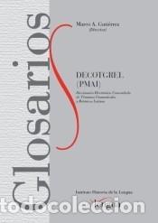 DECOTGREL (PMAI) (Libros Nuevos - Diccionarios y Enciclopedias - Diccionarios)