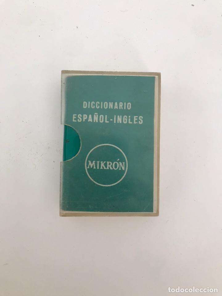 MINI DICCIONARIO INGLES-ESPAÑOL 6CMX4CM (Libros Nuevos - Diccionarios y Enciclopedias - Diccionarios)