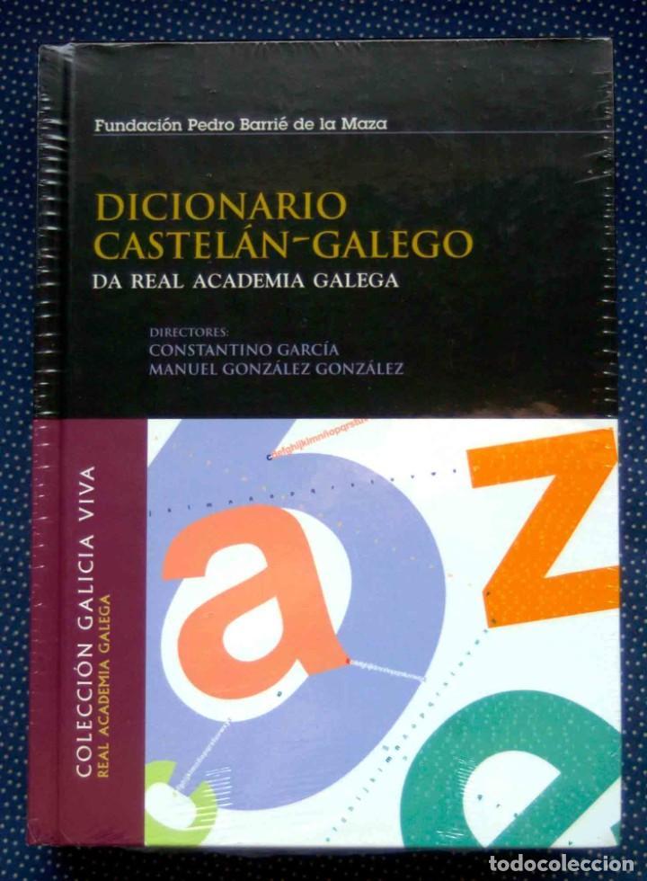 DICCIONARIO CASTELAN-GALEGO DA REAL ACADEMIA GALEGA - CONSTANTINO GARCIA , MANUEL GONZALEZ GONZALEZ (Libros Nuevos - Diccionarios y Enciclopedias - Diccionarios)