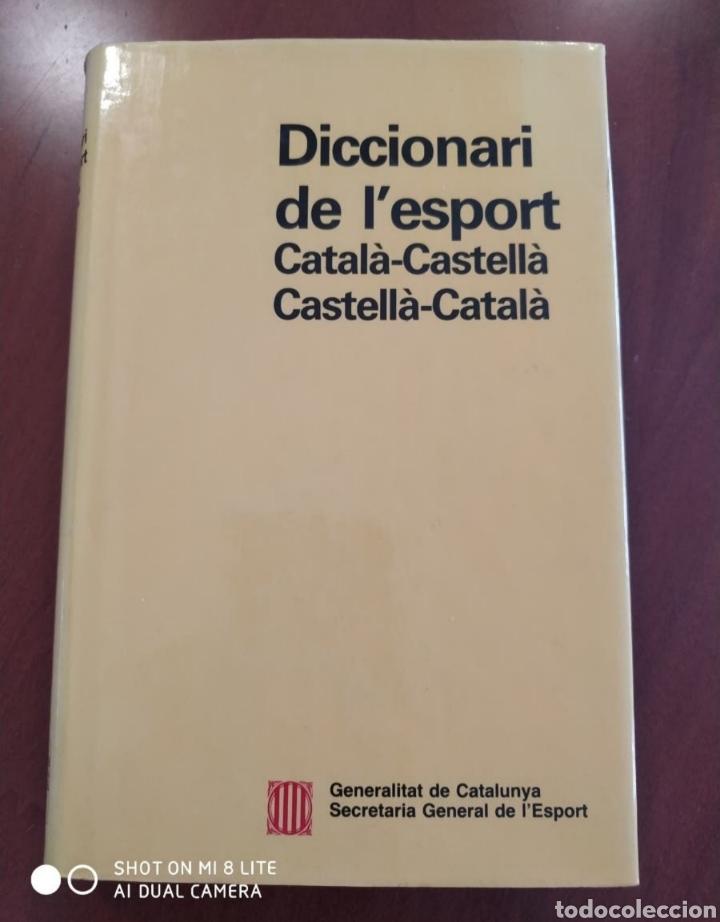 DICCIONARI DE L'ESPORT (Libros Nuevos - Diccionarios y Enciclopedias - Diccionarios)