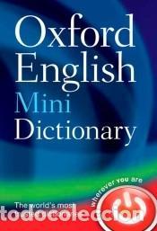 OXFORD ENGLISH MINIDICTIONARY. 8TH EDITION (Libros Nuevos - Diccionarios y Enciclopedias - Diccionarios)