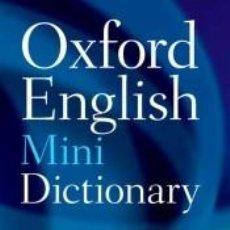 Diccionarios: OXFORD ENGLISH MINIDICTIONARY. 8TH EDITION. Lote 270942393