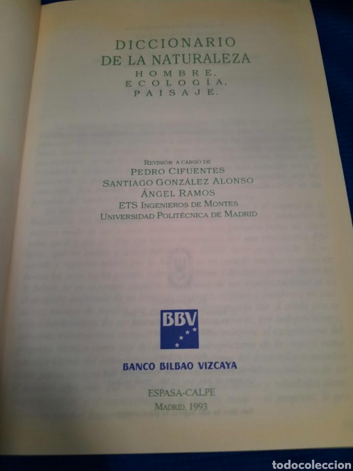 Diccionarios: DICCIONARIO DE LA NATURALEZA BBV 2003 - Foto 2 - 271119828