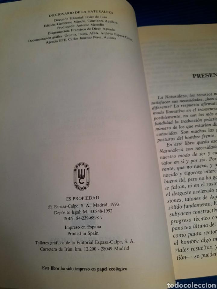Diccionarios: DICCIONARIO DE LA NATURALEZA BBV 2003 - Foto 3 - 271119828