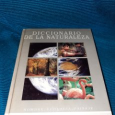 Diccionarios: DICCIONARIO DE LA NATURALEZA BBV 2003. Lote 271119828