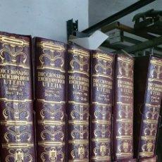 Livros: DICCIONARIO ENCICLOPEDIO UTEHA 12 TOMOS. Lote 272288493