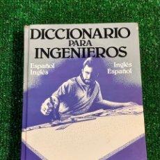 Diccionarios: DICCIONARIO PARA INGENIEROS. LOUIS A.ROBB. ESPAÑOL/INGLÉS.INGLÉS/ESPAÑOL. LIMITADO A 4000 EJEMPLARES. Lote 272675568