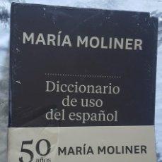 Livros: DICCIONARIO DE USO DEL ESPAÑOL MARIA MOLINER 50 AÑOS NUEVA EDICIÓN ACTUALIZADA DE GREDOS. Lote 273725423