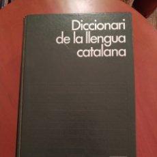 Diccionarios: DICCIONARI DE LA LLENGUA CATALANA. Lote 274290883