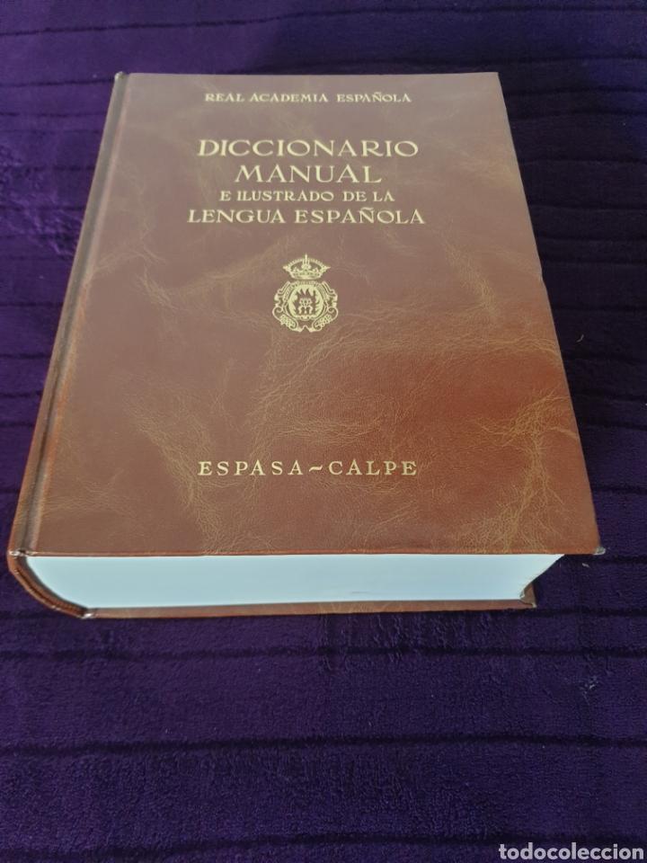 Diccionarios: Antiguo Diccionario Manual e ilustrado de la Lengua Española 1989 - Foto 3 - 275310173