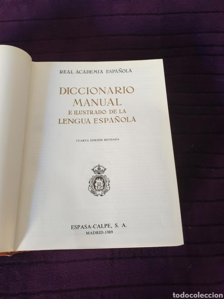 Diccionarios: Antiguo Diccionario Manual e ilustrado de la Lengua Española 1989 - Foto 4 - 275310173