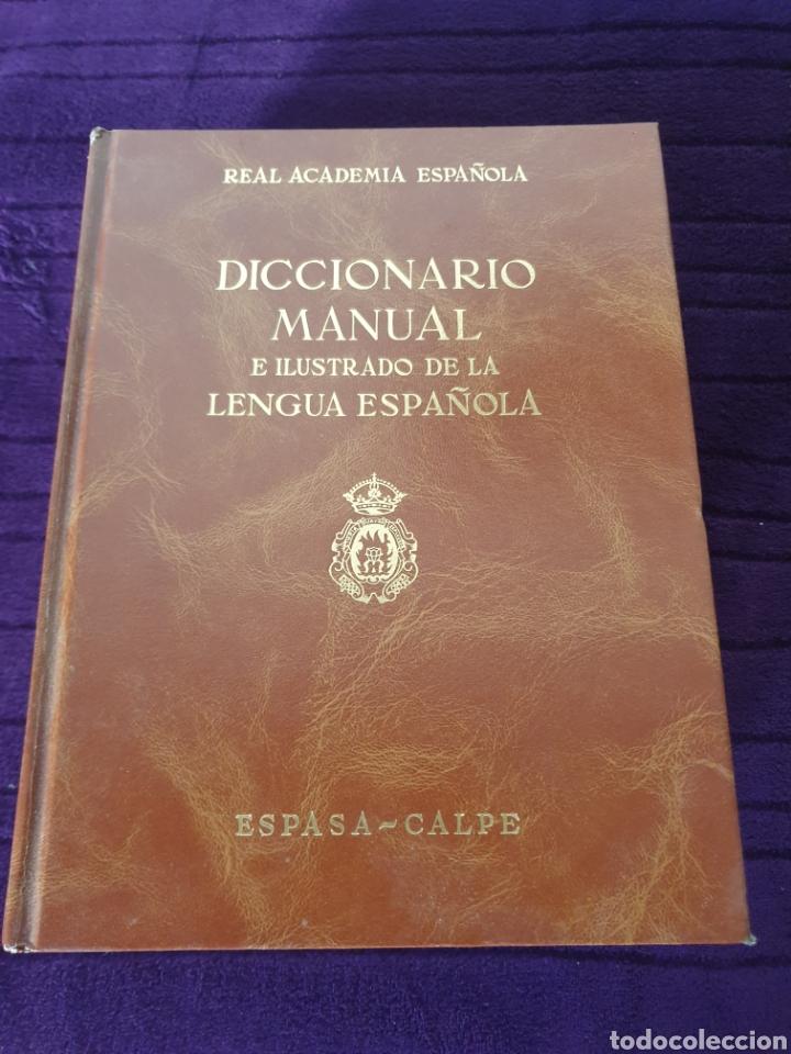 ANTIGUO DICCIONARIO MANUAL E ILUSTRADO DE LA LENGUA ESPAÑOLA 1989 (Libros Nuevos - Diccionarios y Enciclopedias - Diccionarios)
