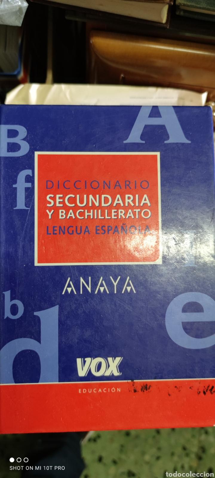 DICCIONARIO SECUNDARIA Y BACHILLERATO LENGUA ESPAÑOLA (Libros Nuevos - Diccionarios y Enciclopedias - Diccionarios)