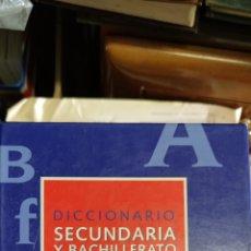 Diccionarios: DICCIONARIO SECUNDARIA Y BACHILLERATO LENGUA ESPAÑOLA. Lote 276021658