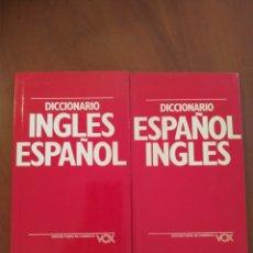 Diccionarios: DICCIONARIO INGLE/CASTELLANO Y CASTELLANO/INGLÉS. Lote 276229458