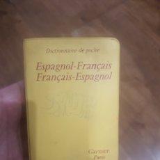 Diccionarios: DICCIONARIO FRANCÉS ESPAÑOL GARNIER DE BOLSILLO. Lote 278848633