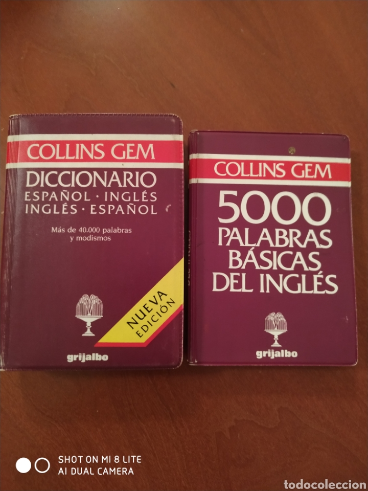 DICCIONARIO COLLINS GEM MÁS 500 PALABRAS (Libros Nuevos - Diccionarios y Enciclopedias - Diccionarios)