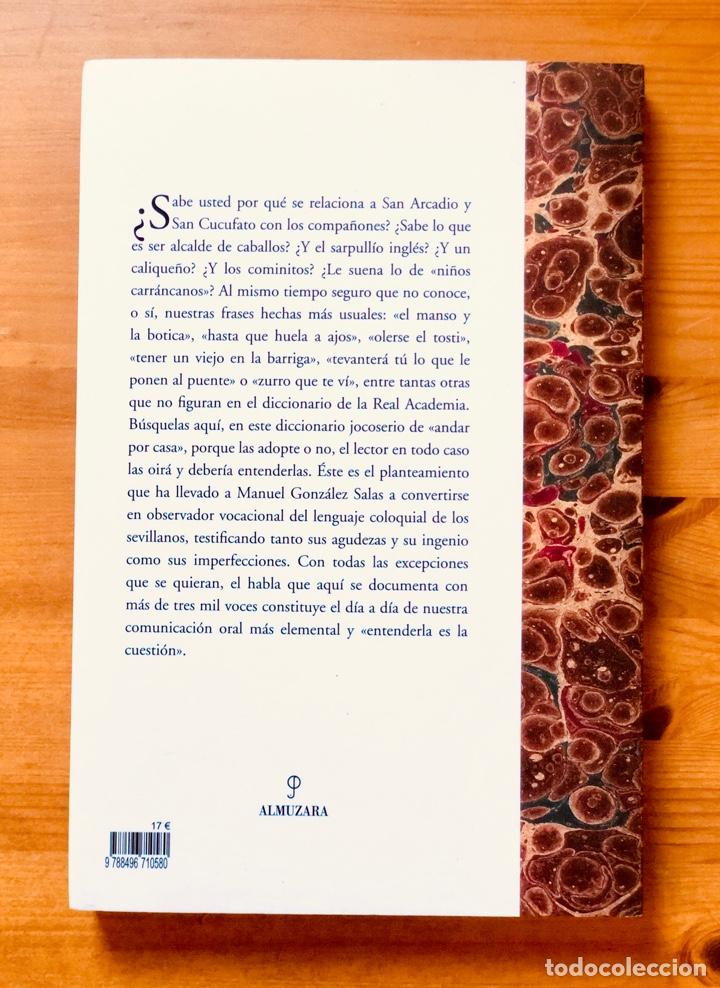 """Diccionarios: """"Diccionario del Habla Sevillana"""". Manuel González Salas - Foto 2 - 286555398"""