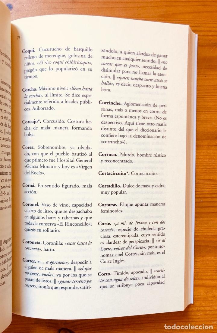 """Diccionarios: """"Diccionario del Habla Sevillana"""". Manuel González Salas - Foto 4 - 286555398"""