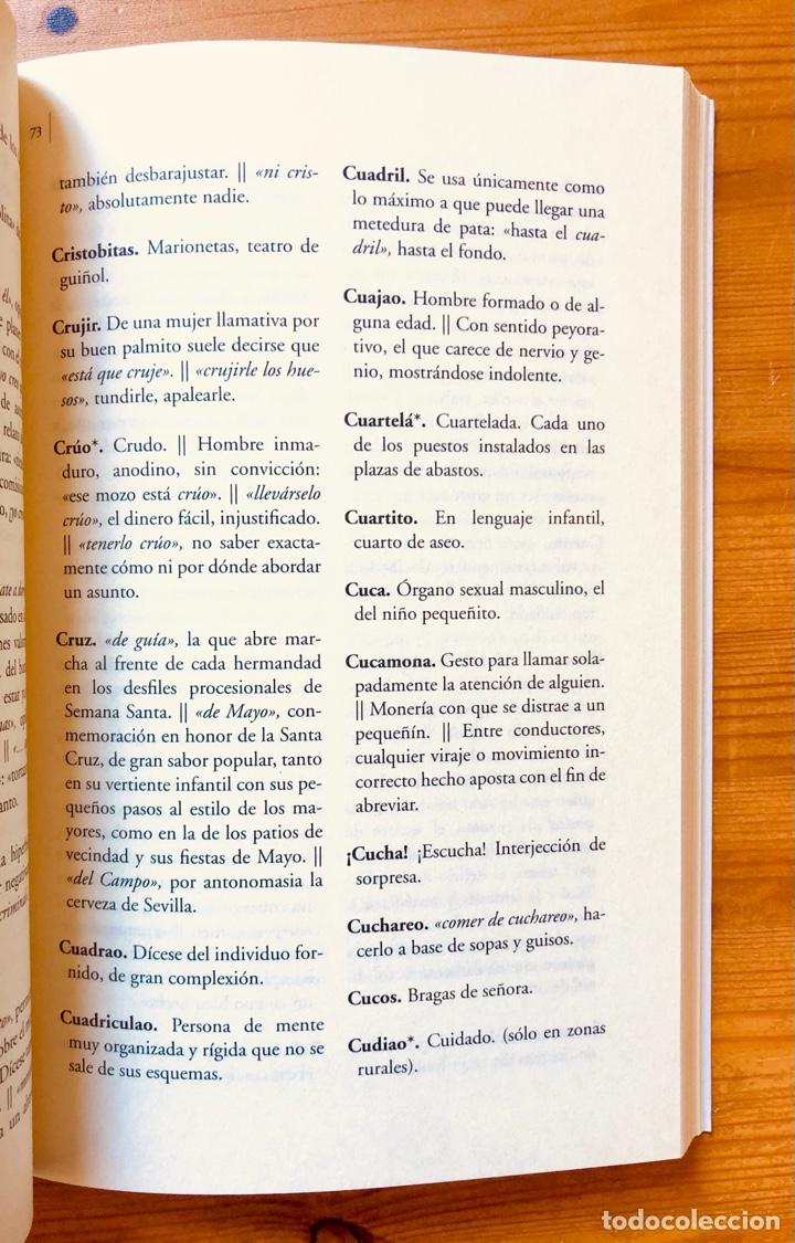 """Diccionarios: """"Diccionario del Habla Sevillana"""". Manuel González Salas - Foto 5 - 286555398"""
