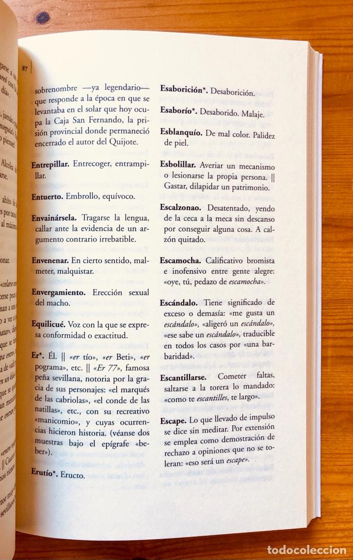 """Diccionarios: """"Diccionario del Habla Sevillana"""". Manuel González Salas - Foto 6 - 286555398"""
