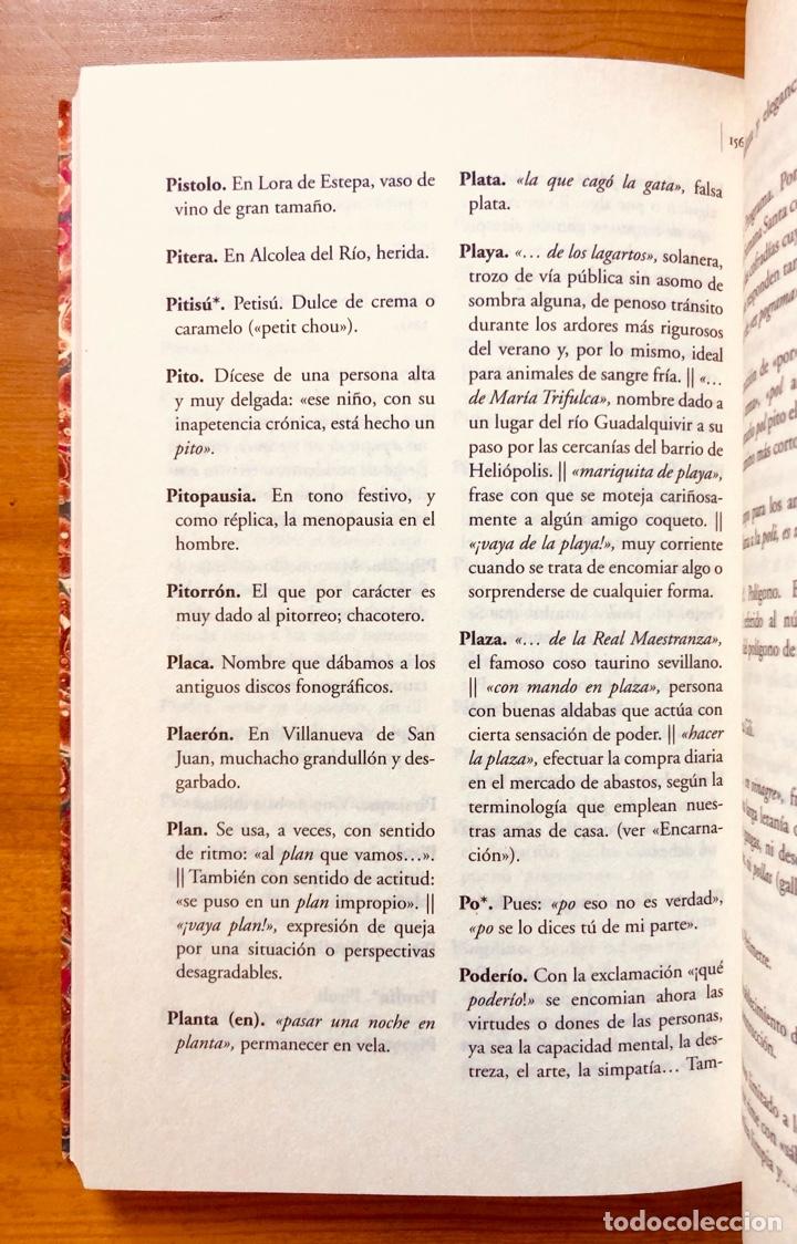 """Diccionarios: """"Diccionario del Habla Sevillana"""". Manuel González Salas - Foto 8 - 286555398"""