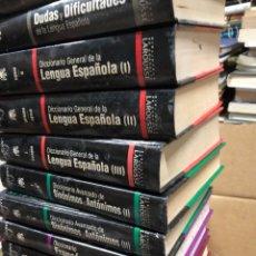 Diccionarios: LOTE DICCIONARIOS LAROUSSE: ORTOGRAFIA, ESPAÑOL, FRANCÉS, INGLES, SINÓNIMOS, ANTÓNIMOS, GRAMÁTICA,... Lote 287792403